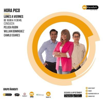 Hora Pico con Pelusa Rubin, Camilo Soares y Willian Domínguez