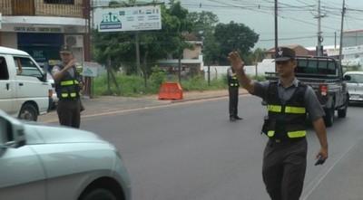 No hay control de la PMT en Asunción, solo en barreras sanitarias