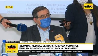 Preparan medidas de transparencia y control