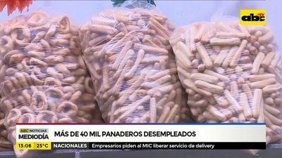 Más de 40.000 panaderos desempleados
