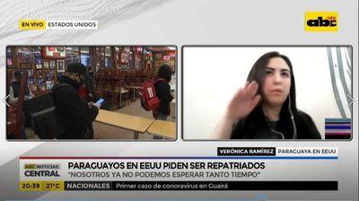 Paraguayos en EE.UU. piden ser repatriados