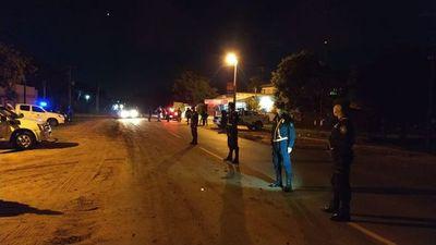 En Carapeguá, Policía detuvo a dos por violar la cuarentena