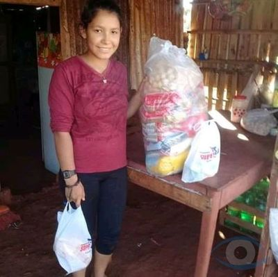 Empresa del Grupo Gonzalito realizo entrega de canastas básicas a familias de escasos recursos