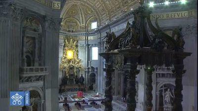 Celebración de la Pasión del Señor desde la Basílica de San Pedro