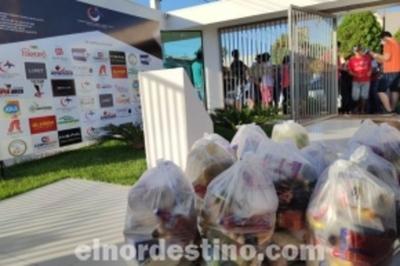 Cámara de Industria, Comercio, Turismo y Servicios de Pedro Juan Caballero entrega kits a comerciantes informales