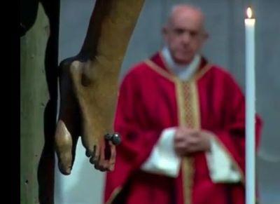 Papa Francisco presidió celebración de la Pasión