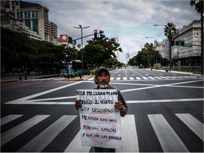 Argentina  extiende cuarentena obligatoria hasta el  26 de abril