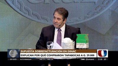 Melgarejo afirma que hay manipulación política detrás de denuncias