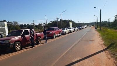 Coronavirus: En Lambaré 80% de conductores no pudo justificar circulación durante durante el fin de semana