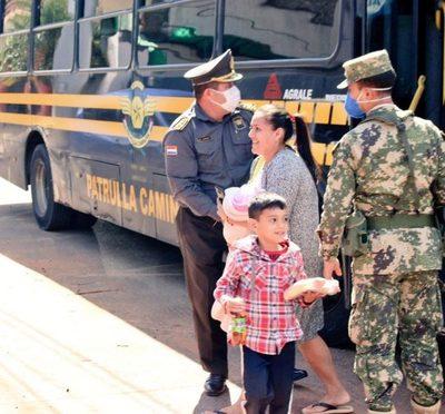 93 compatriotas ingresan al país por razones humanitarias