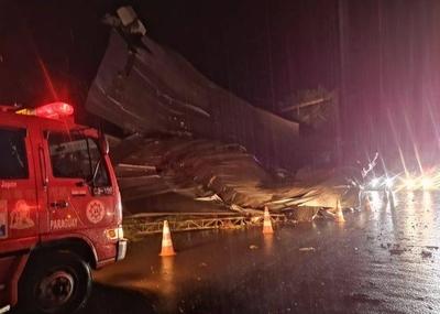 HOY / PJC: Tormenta causó destrozos y cortes de energía en todos los barrios