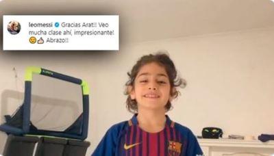 El niño iraní que se ganó el elogio de Lionel Messi y es comparado con Cristiano Ronaldo