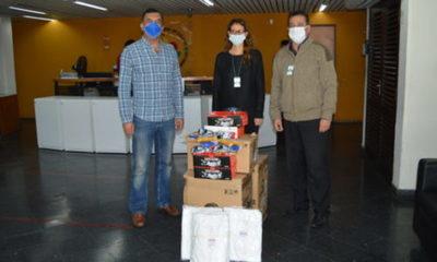 » CAFYF donó insumos de protección al Laboratorio Central y el SENAVE.