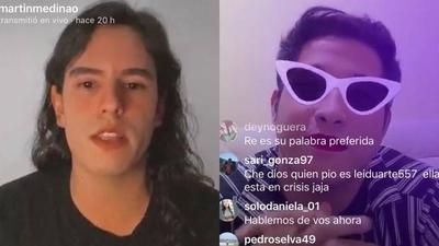 HOY / Entrevistas en tiempos de cuarentena: Martín y un 'ping pong' con mediáticos a través de Instagram