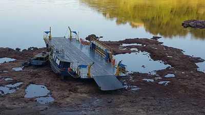 Bajo caudal de los ríos Yguazú y Paraná se debe a la falta de lluvias