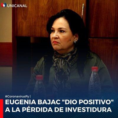María Eugenia Bajac fue expulsada de la Cámara de Senadores