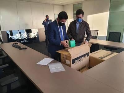 Supuesta sobrefacturación de mascarillas en la Dinac: Fiscalía realiza 7 allanamientos