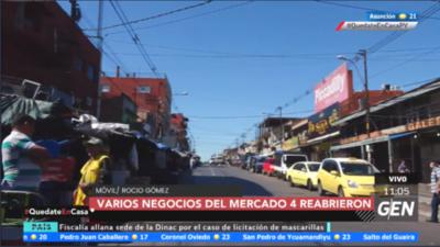 HOY / Mercado N°4: Reabrieron negocios ante la necesidad a pesar de la restricción sanitaria