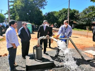 Culminan los primeros cuatro pozos para garantizar servicio de agua potable en barrios de Asunción
