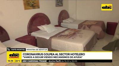 Coronavirus golpea al sector hotelero