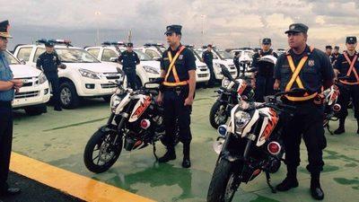 Policía paga G. 2.020 millones en cubiertas