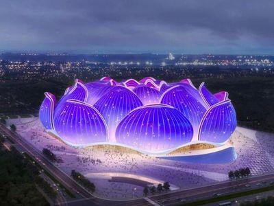 A pesar de la pandemia, el Guangzhou construye un estadio para 100.000 personas