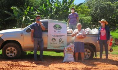 » Agrofértil entregó víveres en San Pedro