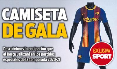 El diario Sport filtra la que sería la nueva camiseta del Barcelona
