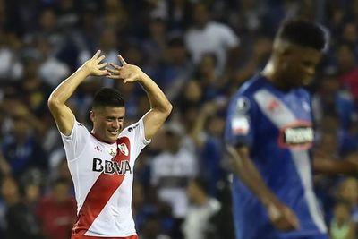 """Moreira, las lesiones, el apoyo y la sinceridad de Gallardo y un deseo: """"Me encantaría volver a River"""""""