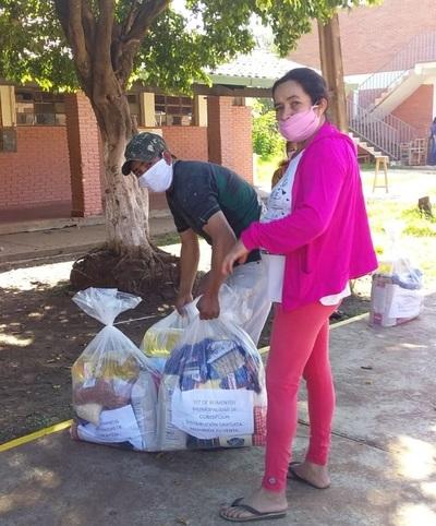 Municipalidad de Concepción entrega víveres en reemplazo de almuerzo