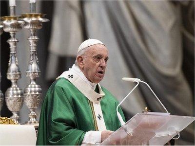 """El Papa cree que la pandemia es """"tiempo de eliminar desigualdades"""""""