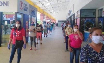 HOY / Ante masiva concurrencia de compristas, Fiscalía realiza controles en supermercados