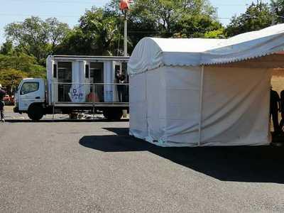 Test rápido de COVID-19 en San Lorenzo será solo para gente con síntomas y desde sus vehículos