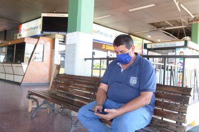 Terminal de Ómnibus seguirá cerrada hasta el 26 de abril