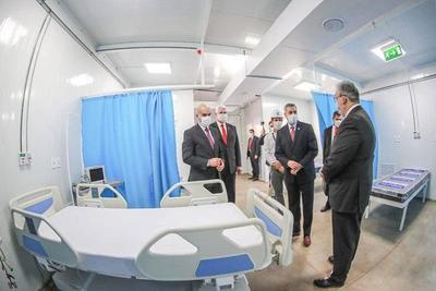Inauguran en el Ineram primer hospital de contingencia para pacientes con Covid-19