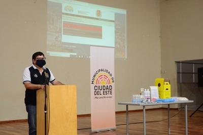 Comuna de CDE rinde cuentas sobre su Plan de Acción ante el Covid-19