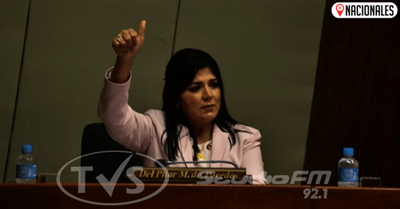 Jueza admite imputación contra diputada Del Pilar Medina