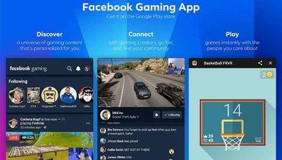 Facebook busca afianzarse en la industria de los videojuegos y lanza una app móvil