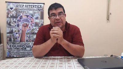 Tras reunión sin solución entre Petta y docentes, sindicatos solicitan dictamen de Salud