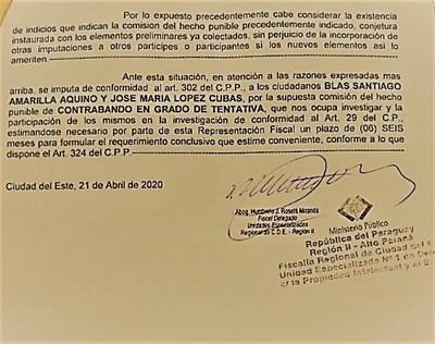 """Fiscal comenzó a """"BLANQUEAR"""" esquema de CONTRABANDO manejado por ADUANEROS"""