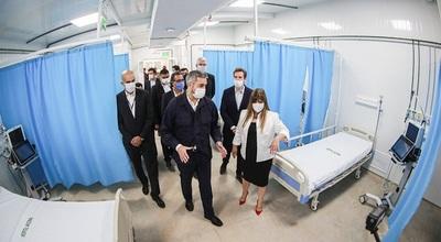 Habilitan el segundo hospital de contingencia en Itagua