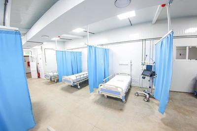 GOBIERNO INAUGURA SEGUNDO HOSPITAL DE CONTINGENCIA CON 126 CAMAS PARA PACIENTES Y MÉDICOS