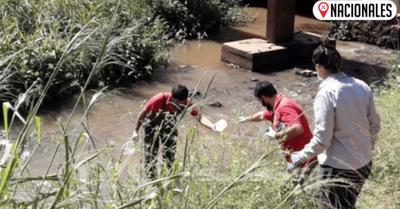 El lago Ypacaraí se purifica y examinan estado de sus demás afluentes