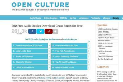 Cómo descargar audiolibros gratuitos para toda la familia