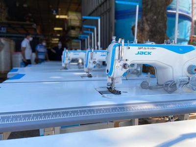 Penitenciarías cuentan con 42 nuevas máquinas de corte y confección