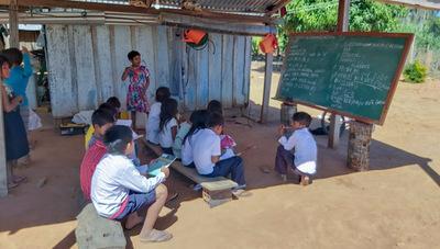 Yby Yaú: Niños indígenas no tienen acceso a la educación virtual