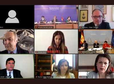 Ministerios de Justicia de Iberoamérica buscan establecer mecanismos de trabajo ante el COVID-19