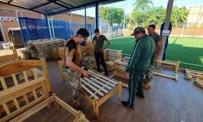 Habilitan albergue para compatriotas varados en el Puente de la Amistad