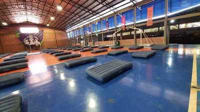 Polideportivo de la UPE habilitado para albergue temporal