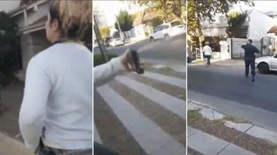 |VIDEO| Argentina: Mujer incumplió cuarentena, y arrojó gas pimienta a policías que intentaban detenerla